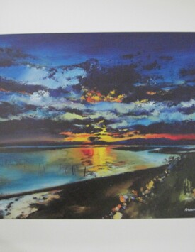 'Sunset over the Estuary'