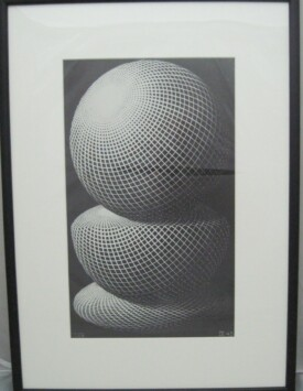 M.C.Escher – 'Three Spheres I'