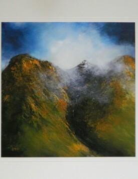 'Misty Peaks, Glencoe'