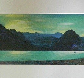 'Nightfall on Skye'